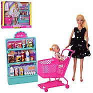 Кукла Defa 8364-BF_w игровой набор, белое платье, фото 3
