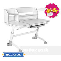 Стіл-парта трансформер для дома FunDesk Amare II Grey