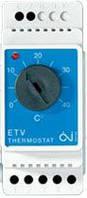 Терморегулятор для теплого пола на DIN-Шину  ETV-1991