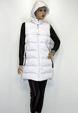 Жіноча жилетка з капюшоном, фото 3
