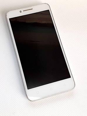 Модульний дисплей білий LENOVO VIBE C (A2020) оригінал б.у., фото 2