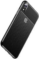 Чехол Baseus для Apple iPhone XR Glistening Case, Transparent Black (WIAPIPH61-ST01)