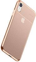 Чехол Baseus для Apple iPhone XR Glistening Case, Transparent Golden (WIAPIPH61-ST0V)