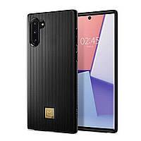 Чехол Spigen для Samsung Galaxy Note 10 La Manon Classy, Black (628CS27410)