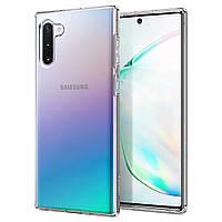 Чехол Spigen для Samsung Galaxy Note 10 Liquid Crystal, Crystal Clear (628CS27370)