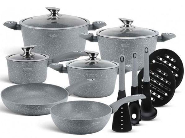 Набор посуды Edenberg EB-5620 с мраморным покрытием