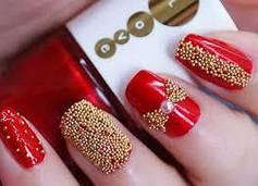 Бульонки для декора ногтей