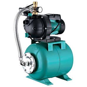 Станція 1.3 кВт Hmax 48м Qmax 80л/хв (самовсмоктуючий насос) 24л LEO (776205), фото 2