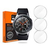 Защитное стекло Spigen для Samsung Galaxy Watch (46mm) GLAS.tR Slim, 3шт (603GL25595)