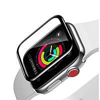 Защитное стекло Baseus Full-screen для Apple Watch series 1/2/3 (38mm), Black  (SGAPWA4-E01)