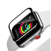 Защитное стекло Baseus Full-screen для Apple Watch series 1/2/3 (42mm), Black  (SGAPWA4-F01)