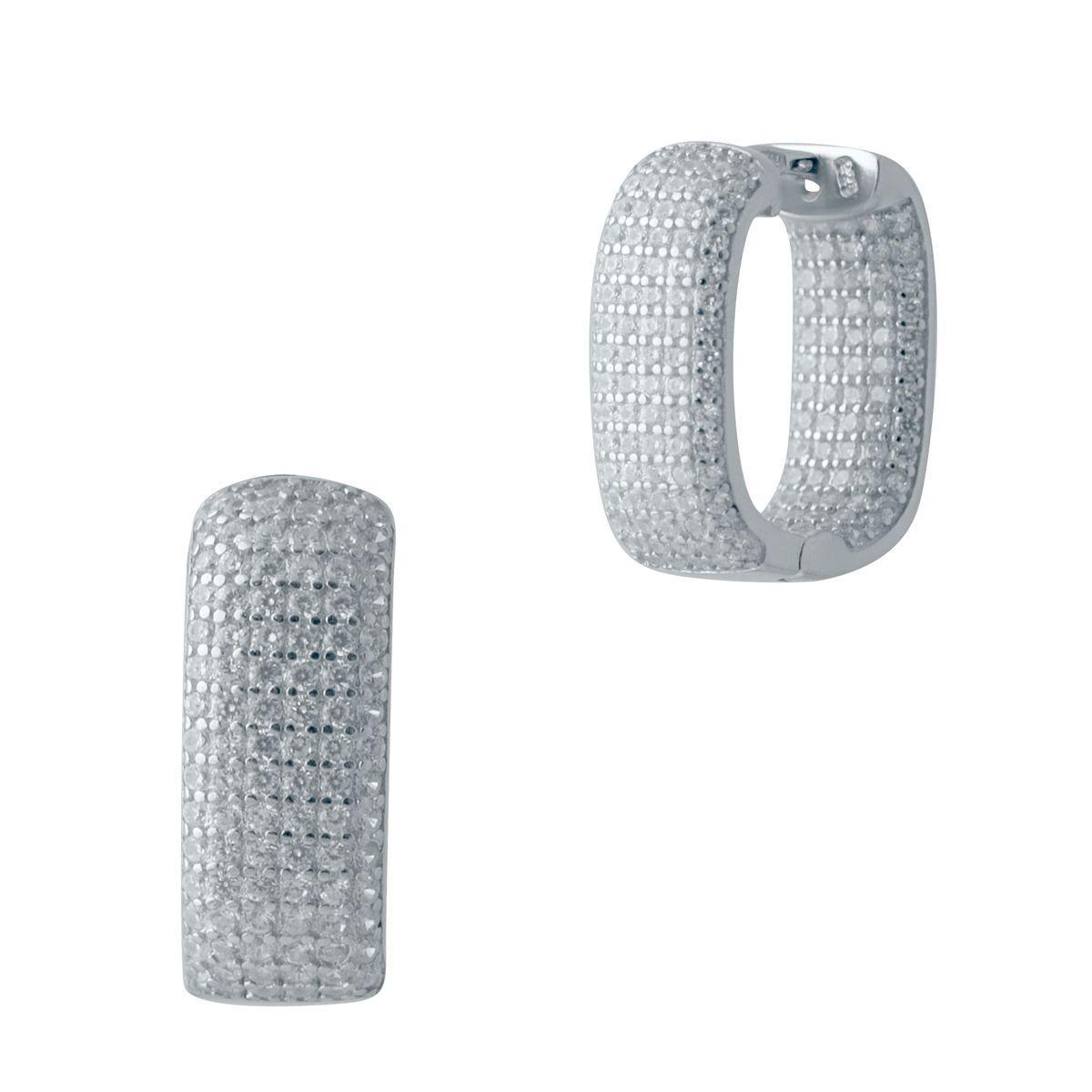 Серебряные серьги DreamJewelry с фианитами (2006428)