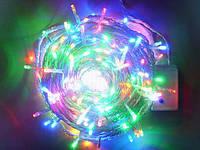 Новогодняя гирлянда 500 диодов мульти прозрачный провод