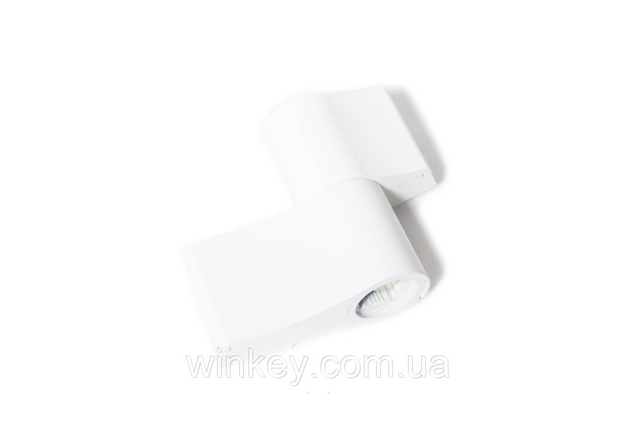 Петля дверная для алюминия JOCKER 67 мм белая оригинал Польша