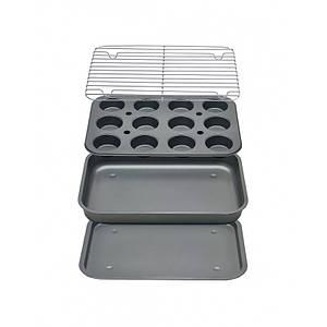 Набор форм для выпечки KingHoff 4пр. (41*29*5см) KH-1409