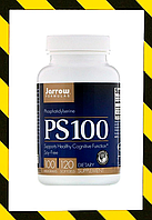 Jarrow Formulas, PS 100, фосфатидилсерин, 100 мг, 120 мягких таблеток