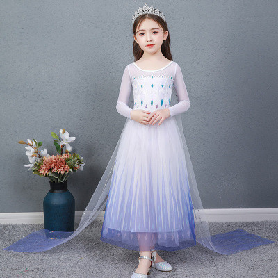 """Белое платье Єльзы с мультфильма """"Холодное сердце"""""""