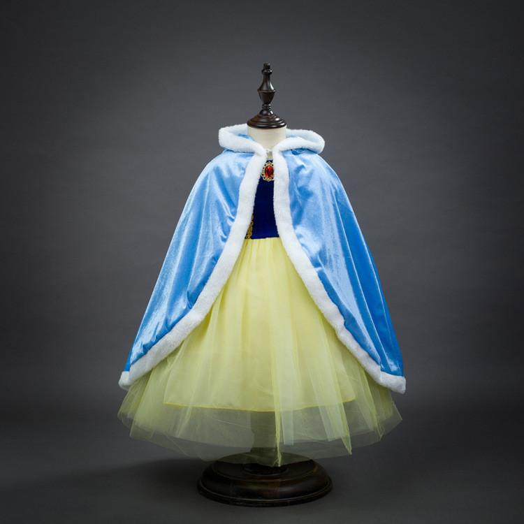 Карнавальная накидка принцессы Эльзы