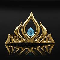 Металлическая корона Эльзы, фото 1