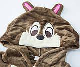 Кигуруми пижама Бурундук, кигуруми Бурундук для взрослых / Kig - 0051, фото 4