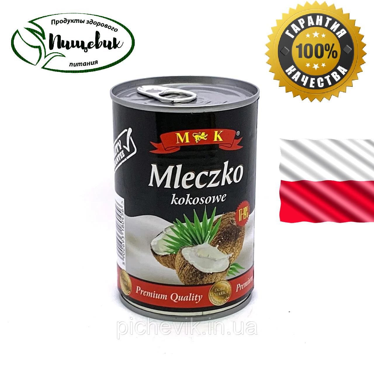 Кокосовое молоко M&K Mleczko kokosowe, (Польша) Обьем: 400 мл