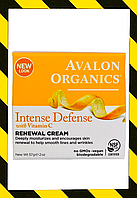 Avalon Organics, Intense Defense, восстанавливающий крем с витамином С, 57 г (2 унции)