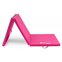 Матрас гімнастичний складний 4cm HS-064FM рожевий