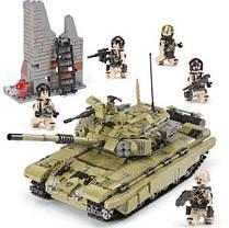 Конструктор Танк Т 90 Тигр Военная техника, 1386 деталей, фото 2