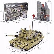 Конструктор Танк Т 90 Тигр Военная техника, 1386 деталей, фото 3