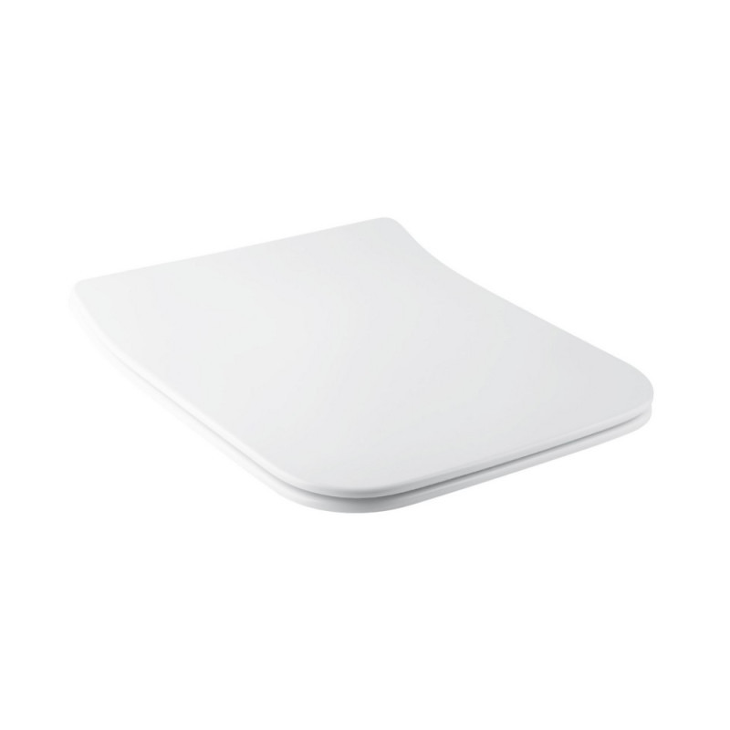 Сиденье для унитаза Qtap Cover с микролифтом Slim QT0599SC2170W