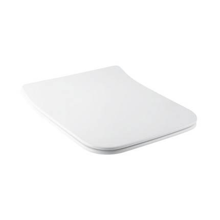 Сиденье для унитаза Qtap Cover с микролифтом Slim QT0599SC2170W, фото 2