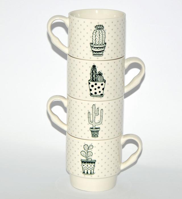 Набор чашек для чая и кофе