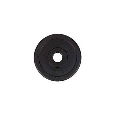 Диск металевий Hop-Sport 1,25 кг, фото 2