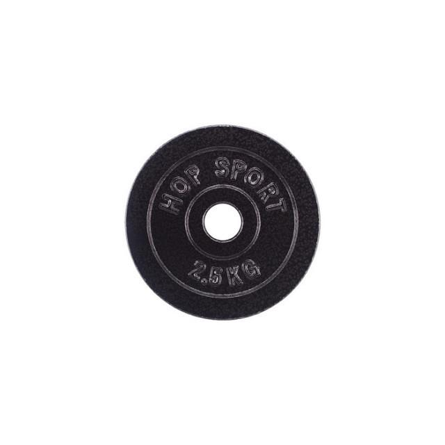 Диск металевий Hop-Sport 2,5 кг