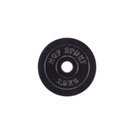 Диск металевий Hop-Sport 2,5 кг, фото 2