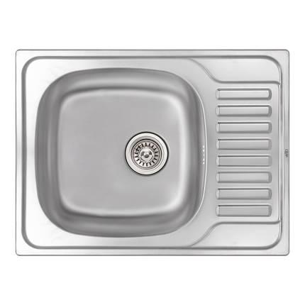 Кухонная мойка Qtap 6550 Micro Decor 0,8 мм (QT6550MICDEC08), фото 2
