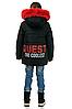 Детскую зимнюю куртку пуховик для девочки с натуральным мехом, фото 2