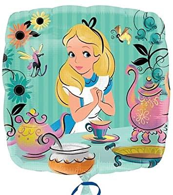 """А18"""" Alice In Wonderland Foil Balloon - Pkg. Фольгированный шар Алиса в зазеркалье, В УП"""