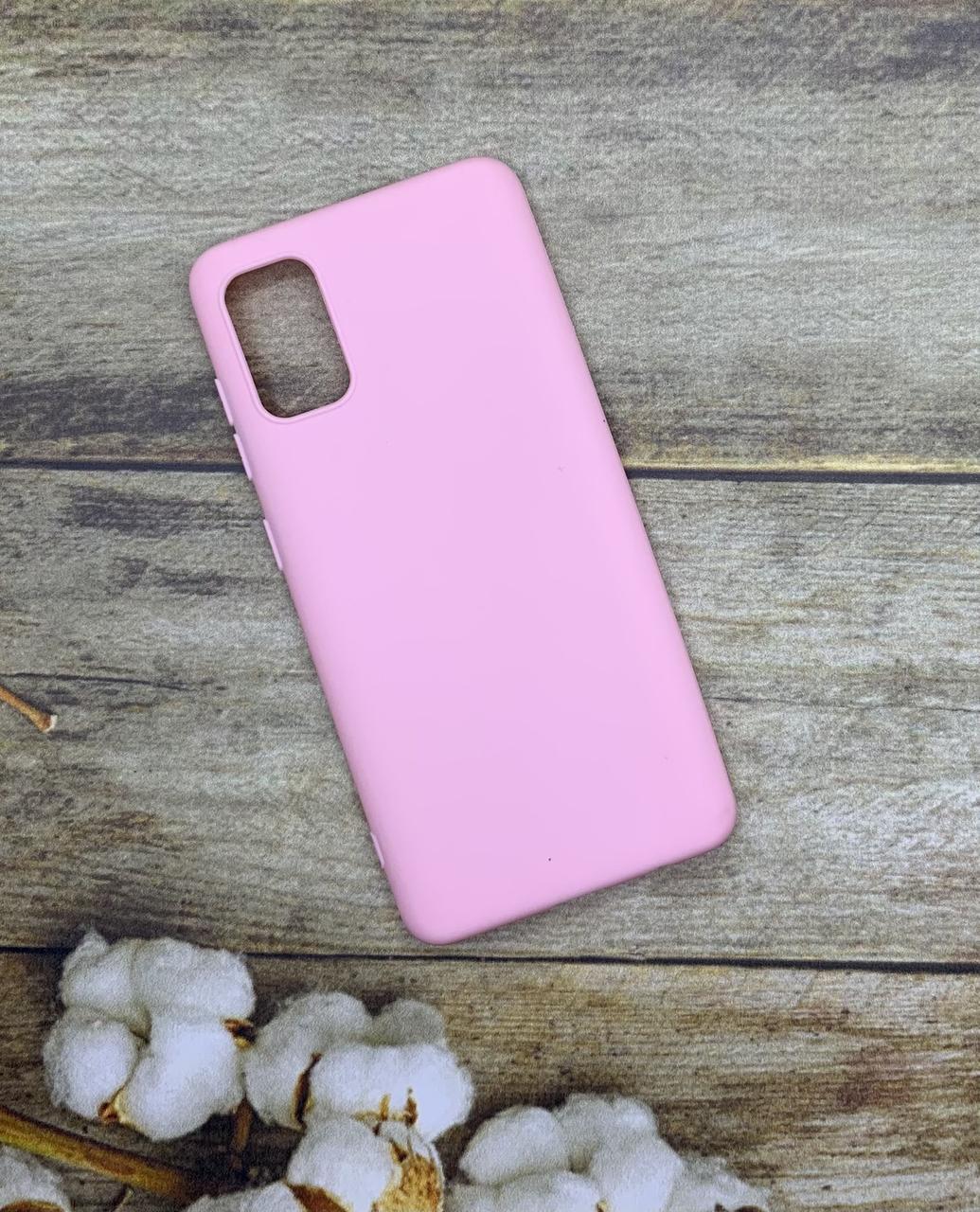 Чехол на Samsung A41 2020 (A415F) матовый цветной силиконовый  ультратонкий бампер/ накладка