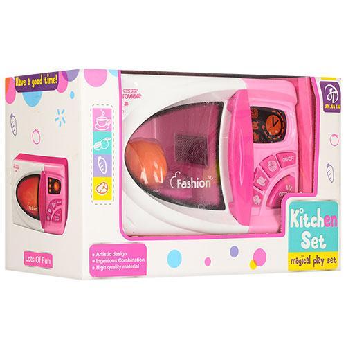 Мікрохвильовка іграшкова 681, світло, музика, продукти
