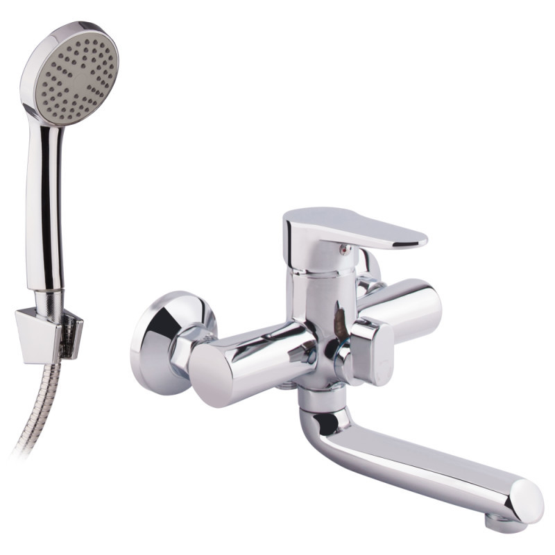 Смеситель для ванны Lidz (CRM)-14 34 006 00 New