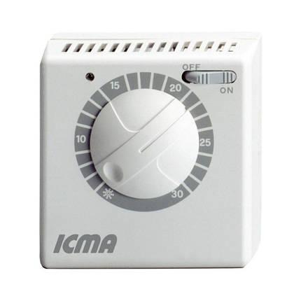 Термостат Icma комнатный электромеханический On-Off №P311, фото 2