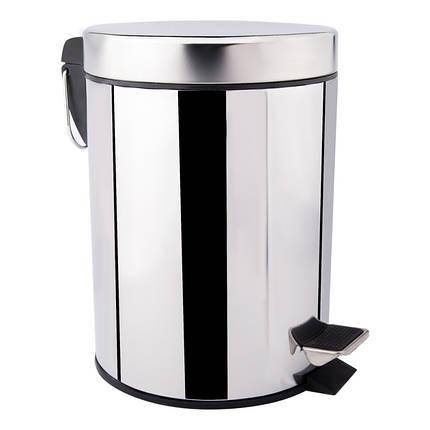 Ведро для мусора Lidz (CRM)-121.01.08, фото 2