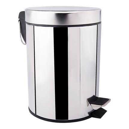 Ведро для мусора Lidz (CRM)-121.01.12, фото 2