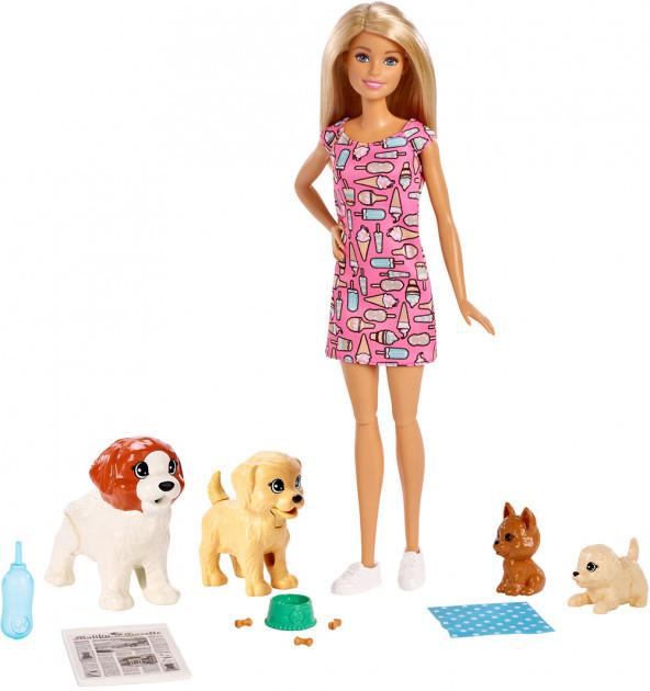 Набор куклы Барби (Barbie) Детский садик щенков