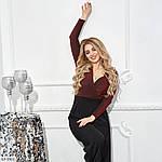 Костюм с брюками женский (Батал), фото 2