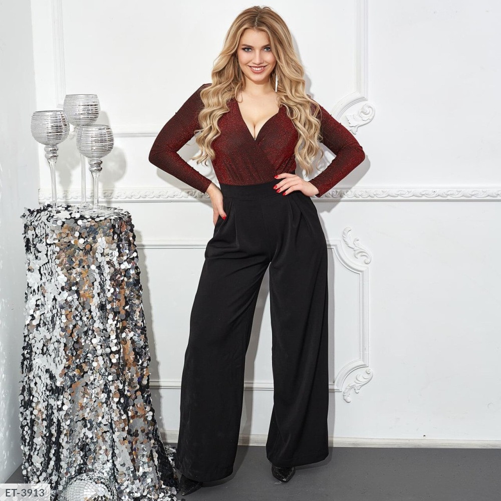 Костюм с брюками женский