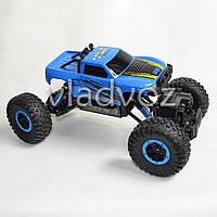Джип на радио управлении машинка внедорожник модель 4x4 Climber Crawler синий 1:18