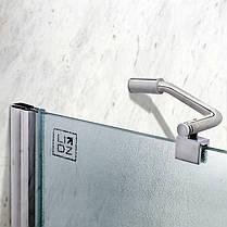 Штора на ванну Lidz Brama SS120x140L.CRM.FR Frost, фото 3