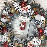 Новогодний венок  Санта, фото 4